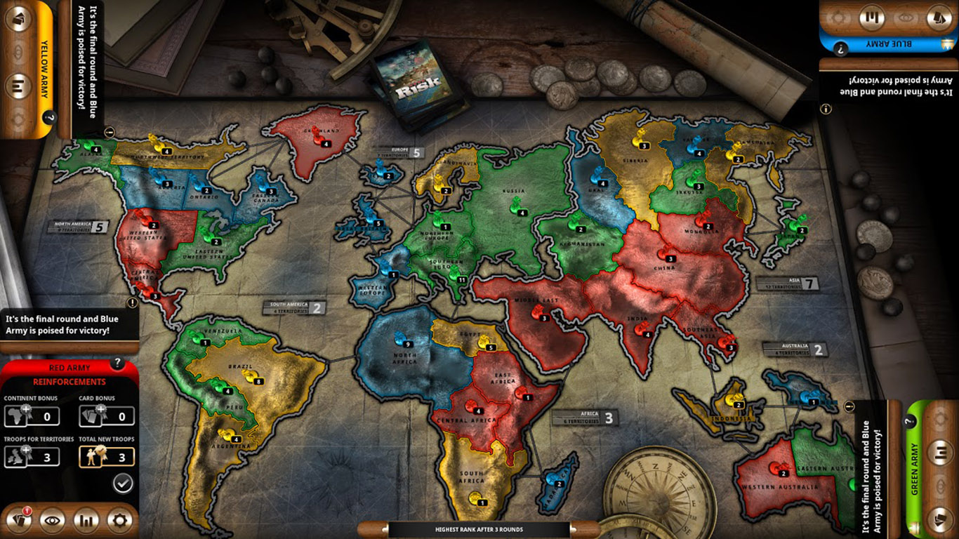 Play Risk Online For Free!