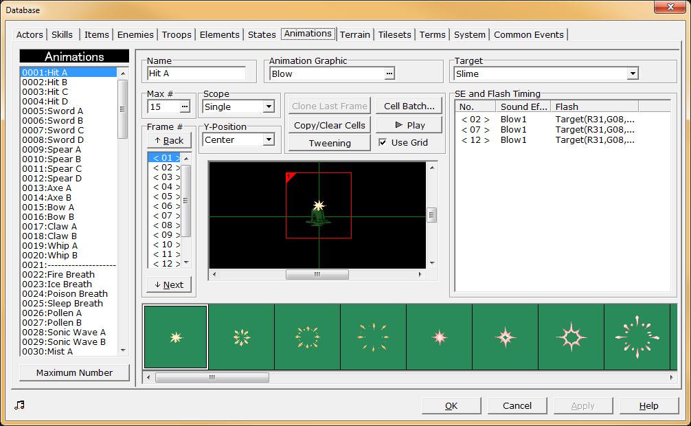 RPG Maker 2000 screenshot