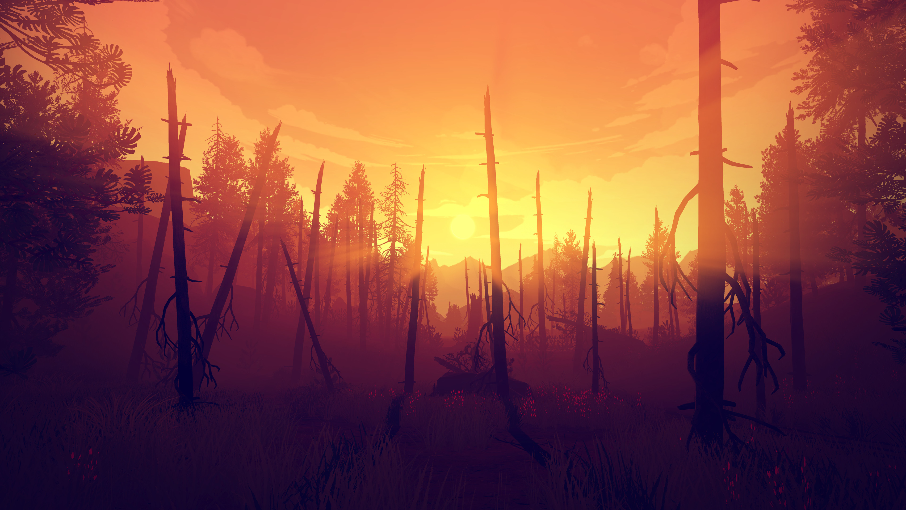 Firewatch screenshot1 on PCGamesCDN you can download cracked unlocked full pc version game direct free download with mirrors and torrent.