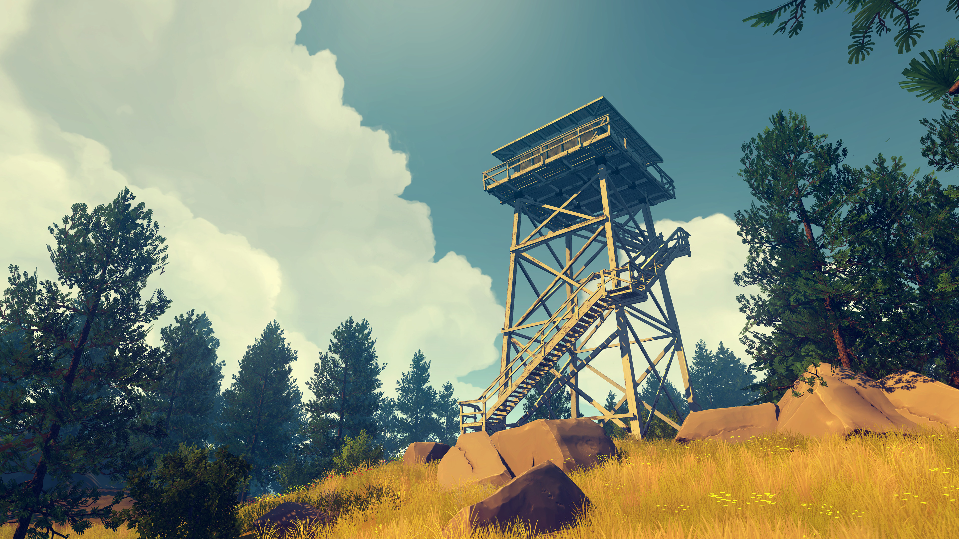 Firewatch screenshot2 on PCGamesCDN you can download cracked unlocked full pc version game direct free download with mirrors and torrent.