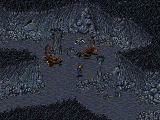 Fallout: A Post Nuclear Role Playing Game screenshot