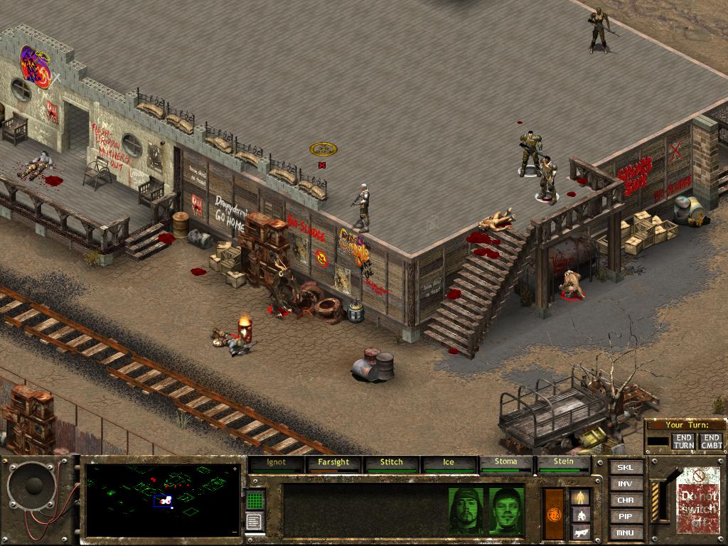 Fallout Tactics: Brotherhood of Steel screenshot