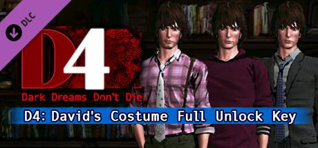 D4: David's Costume Full Unlock Key