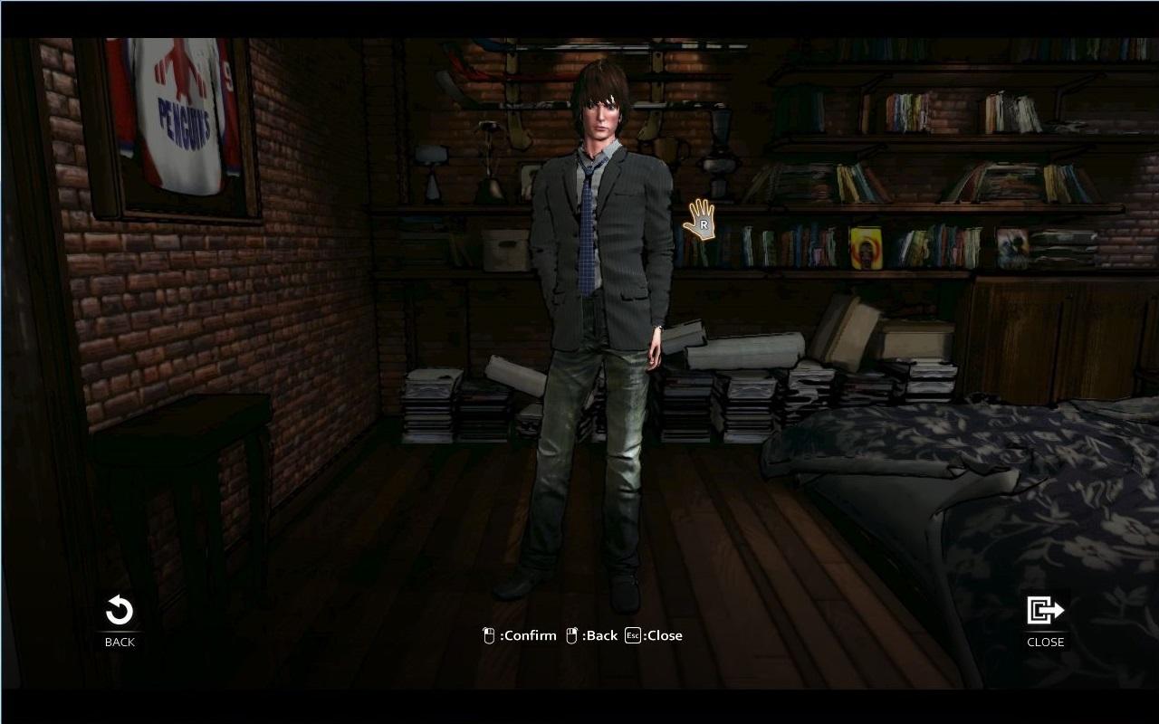 D4: David's Costume Full Unlock Key screenshot