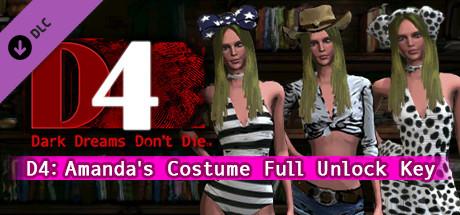 D4: Amanda's Costume Full Unlock Key