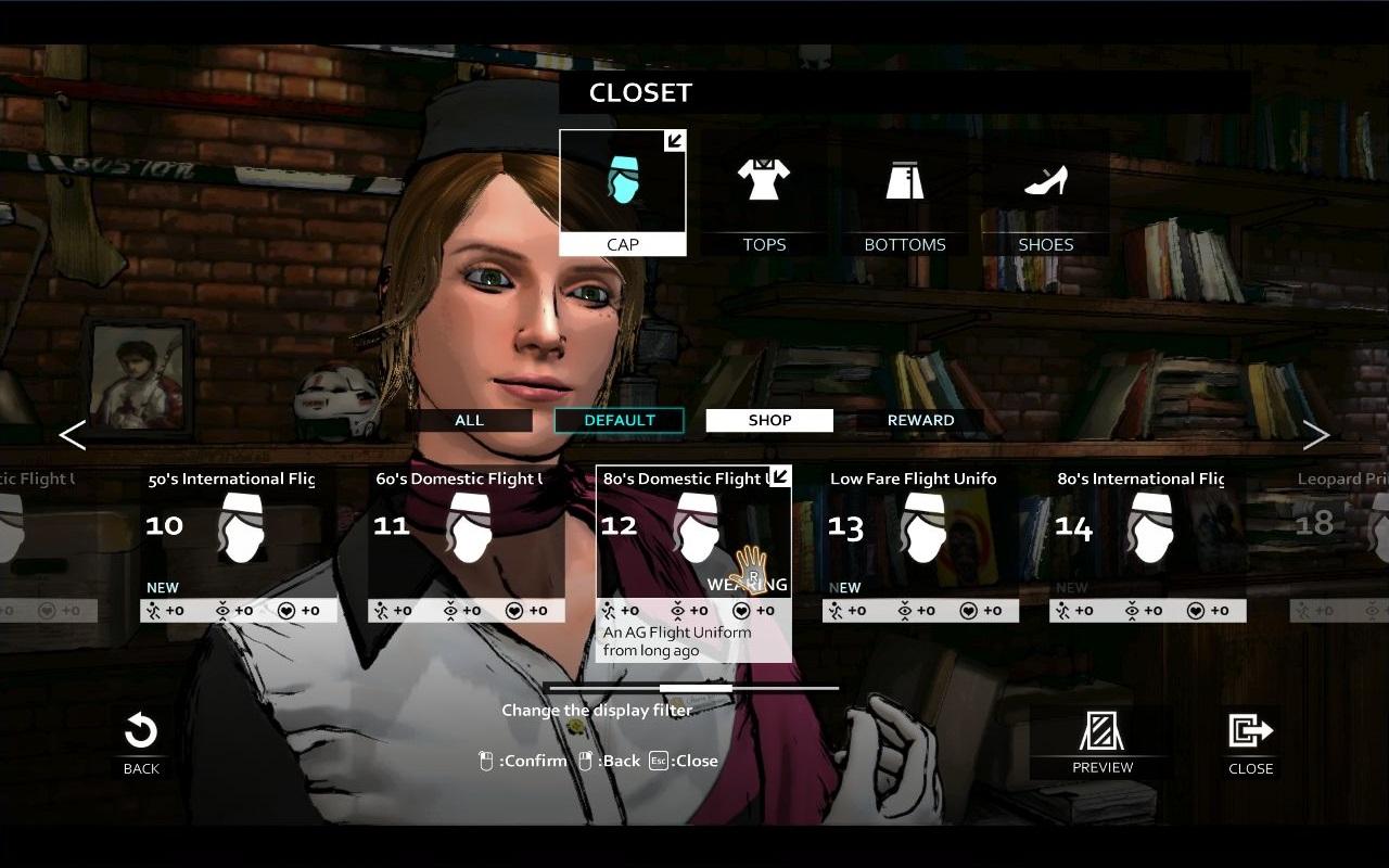 D4: Olivia's Costume Full Unlock Key screenshot