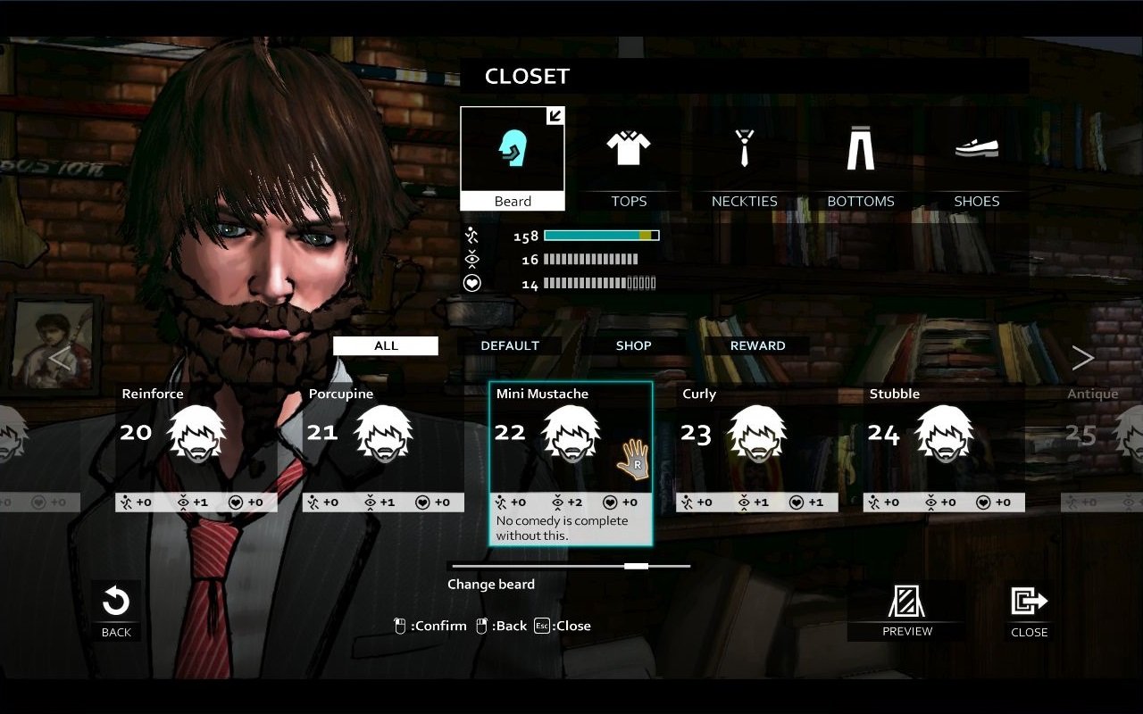 D4: David's Beard Full Unlock Key screenshot