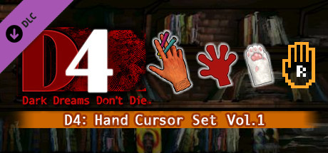 D4: Hand Cursor Set Vol.1