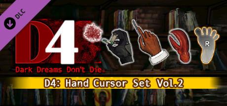 D4: Hand Cursor Set Vol.2