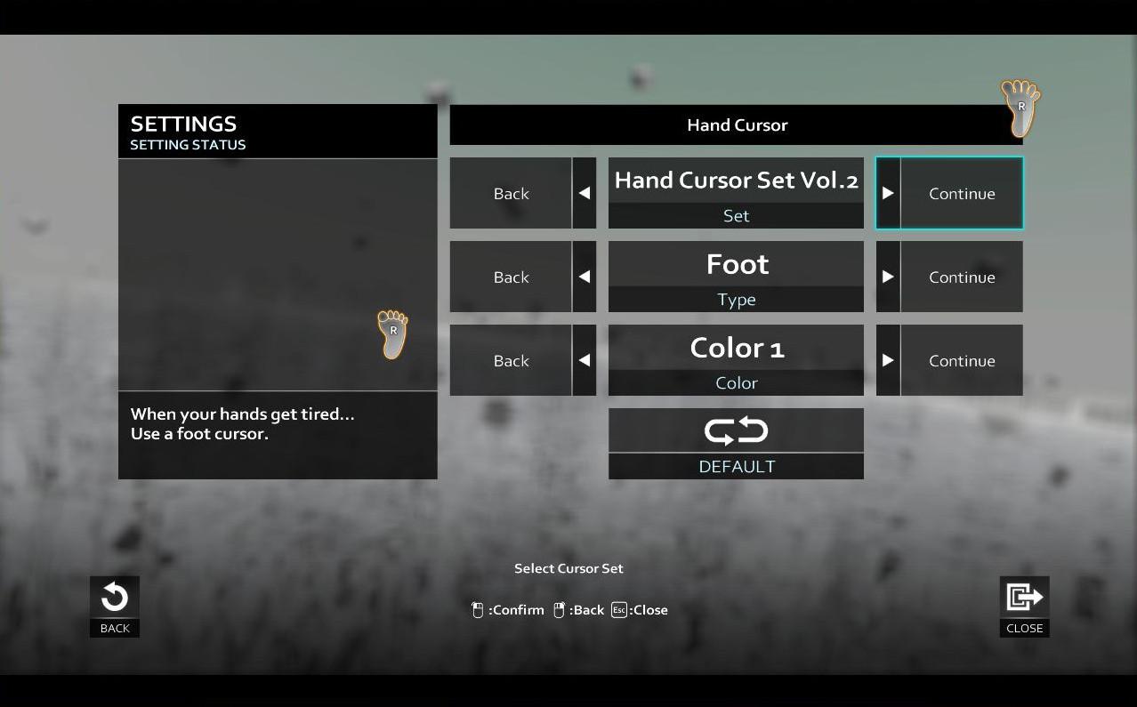 D4: Hand Cursor Set Vol.2 screenshot