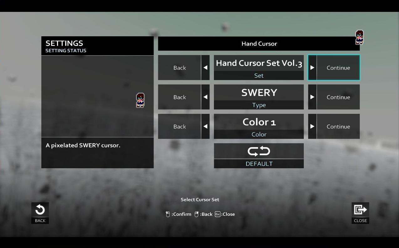 D4: Hand Cursor Set Vol.3 screenshot