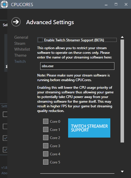 CPUCores :: Maximize Your FPS screenshot