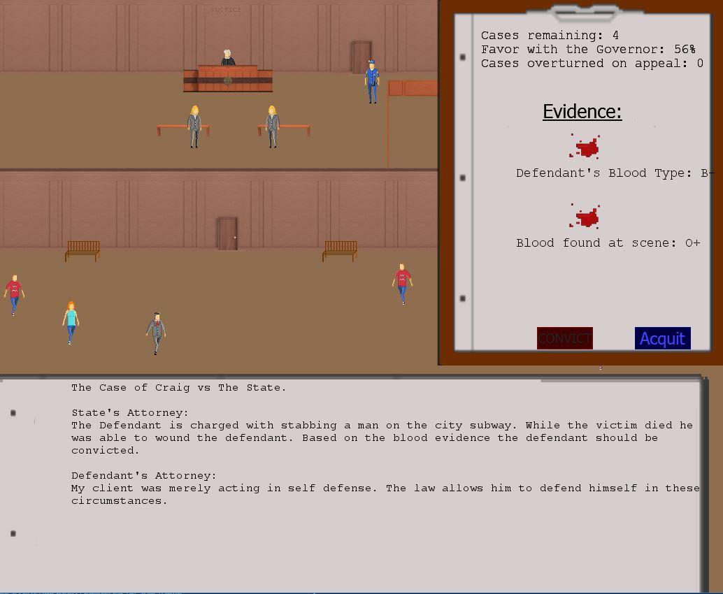 Judged: A Court Simulator screenshot