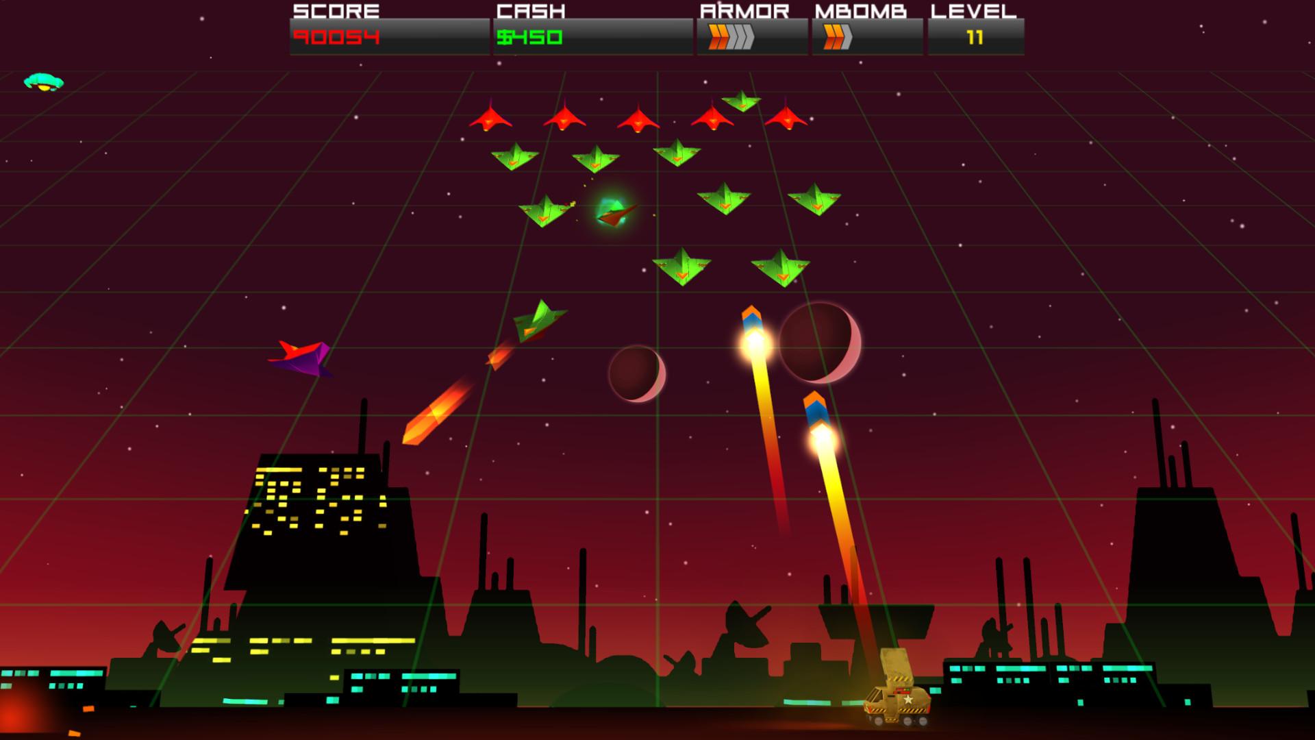 Cosmic Rocket Defender screenshot