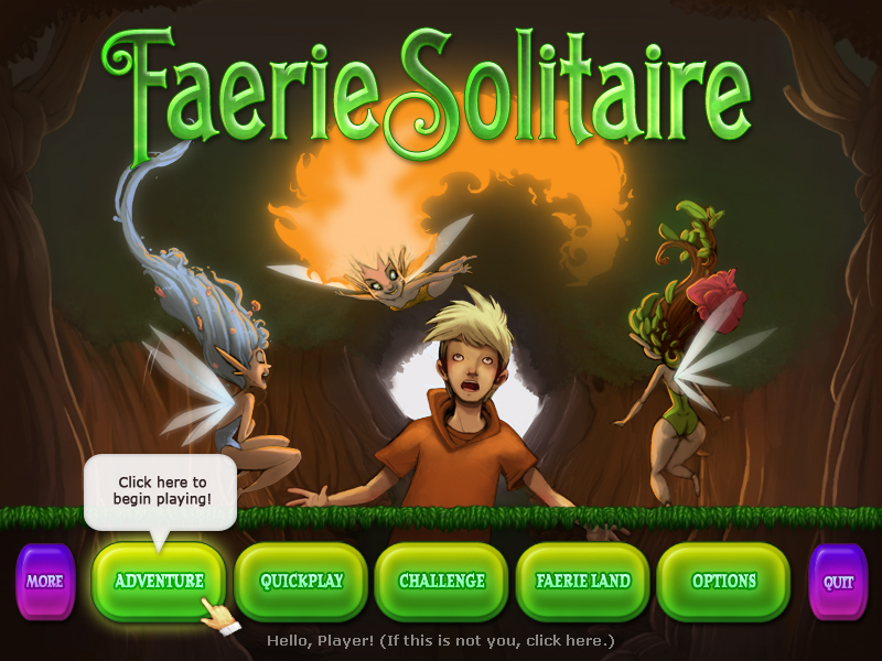 Faerie Solitaire screenshot
