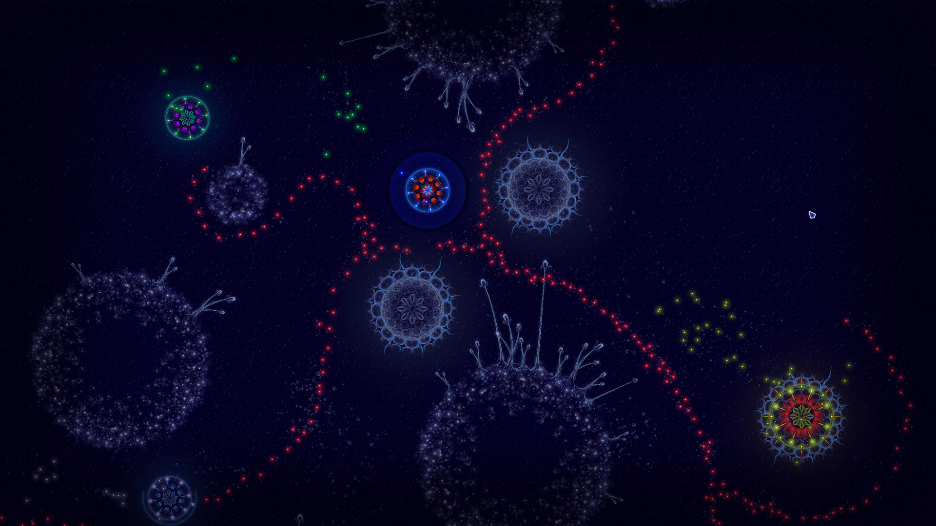 Microcosmum: survival of cells screenshot