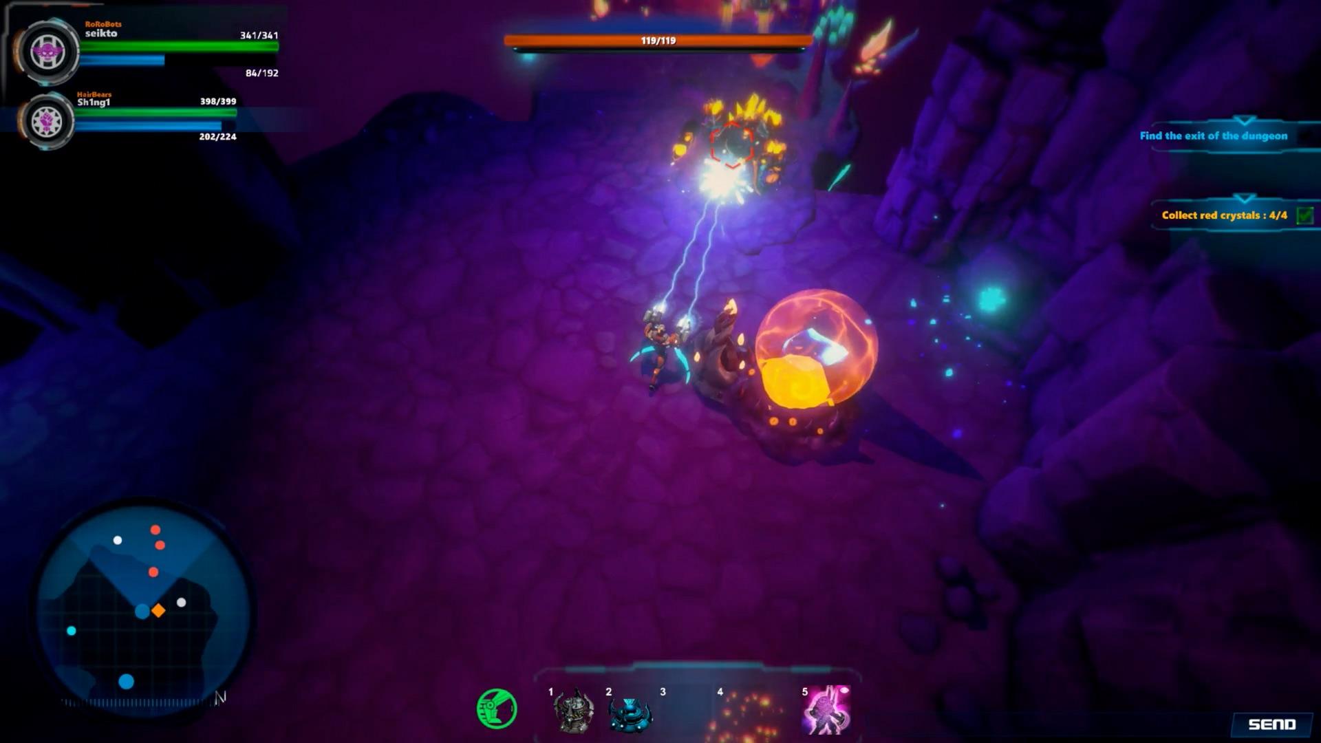 Dungeons and Robots screenshot