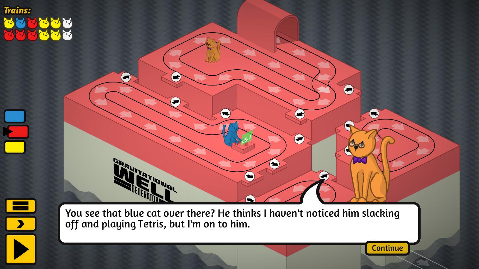 The Cat Machine screenshot