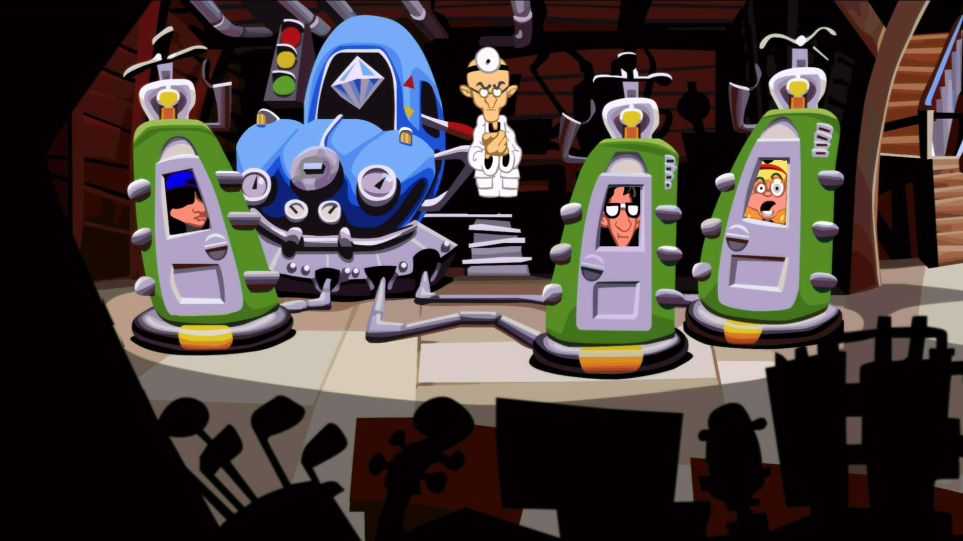 Day of the Tentacle Remastered screenshot 1