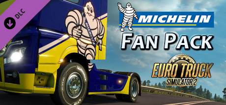 Euro Truck Simulator 2. Michelin Fan Pack дешевле чем в Steam