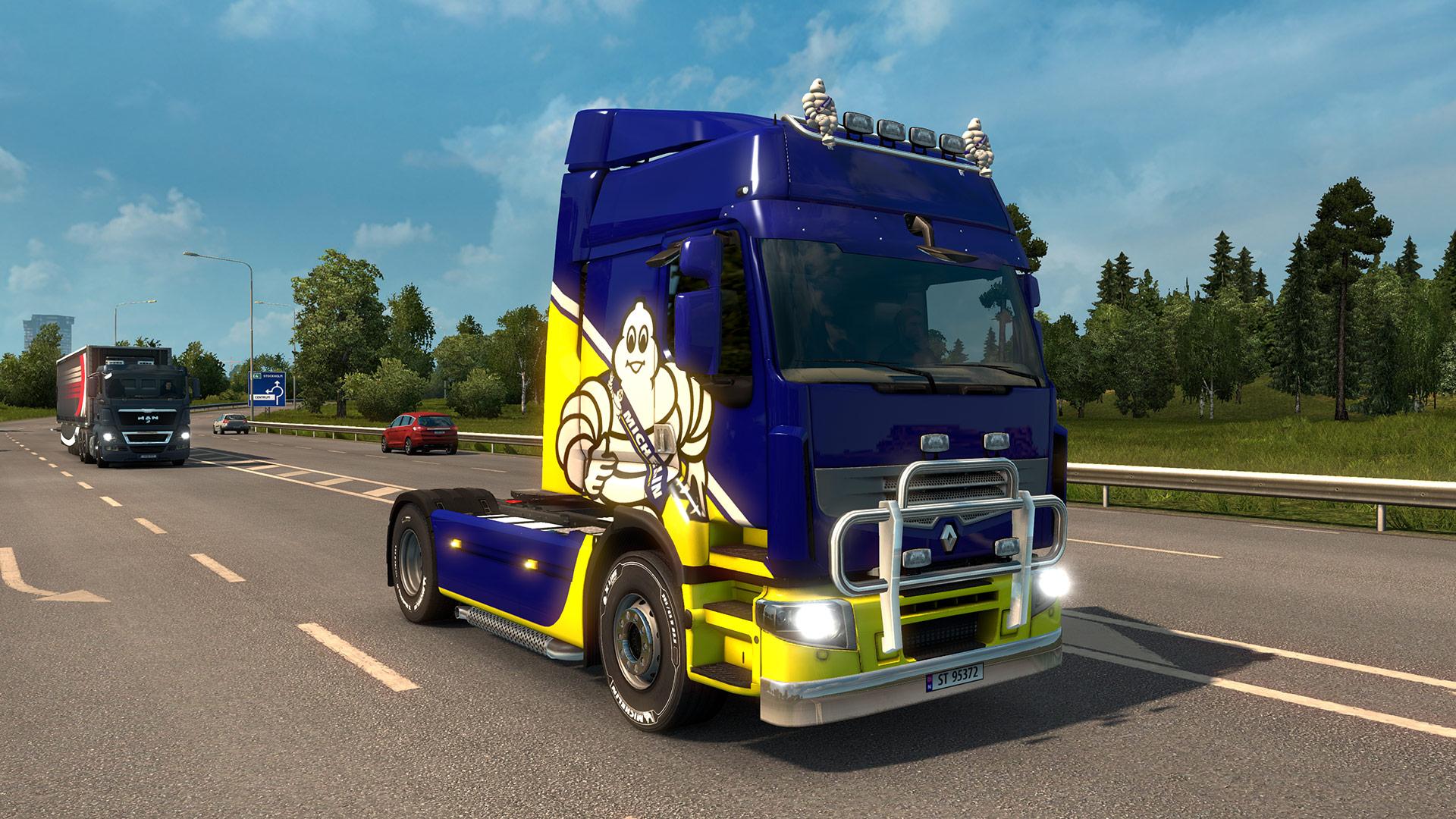Euro Truck Simulator 2 - Michelin Fan Pack screenshot