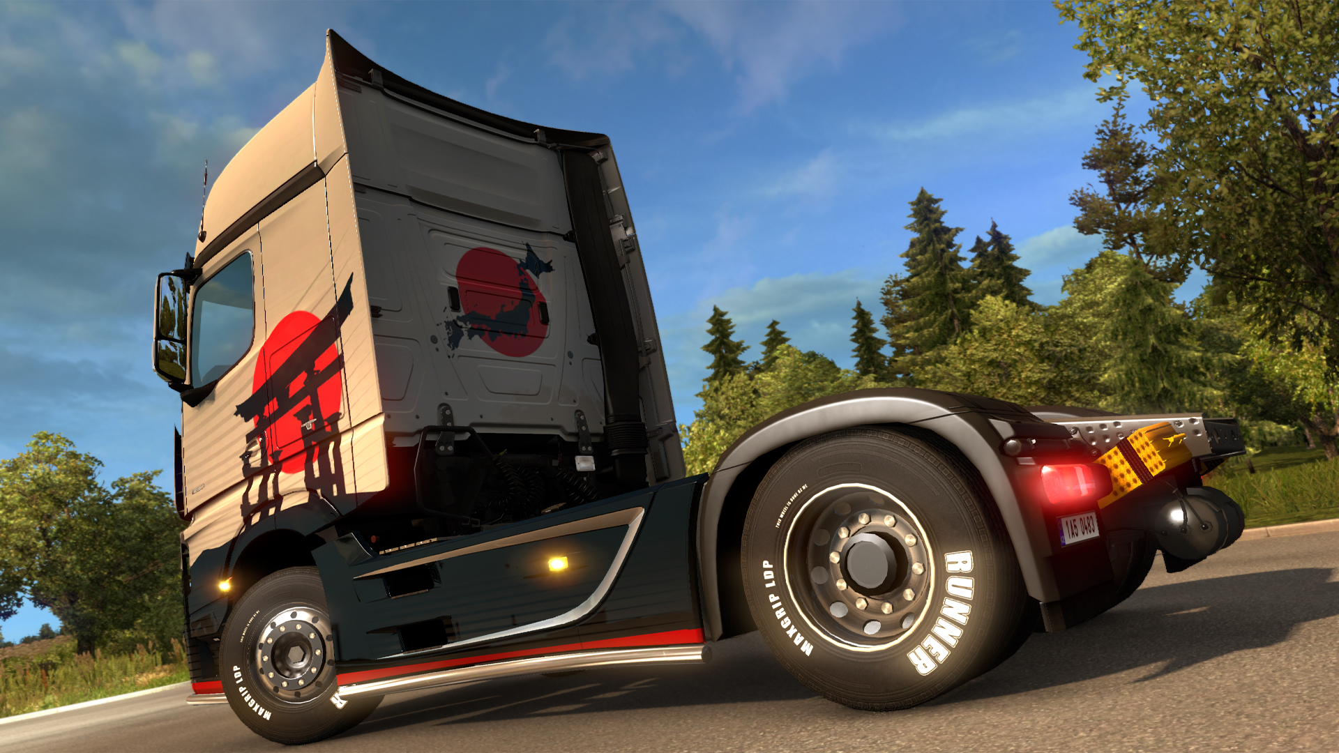 Euro Truck Simulator 2 - Japanese Paint Jobs Pack screenshot