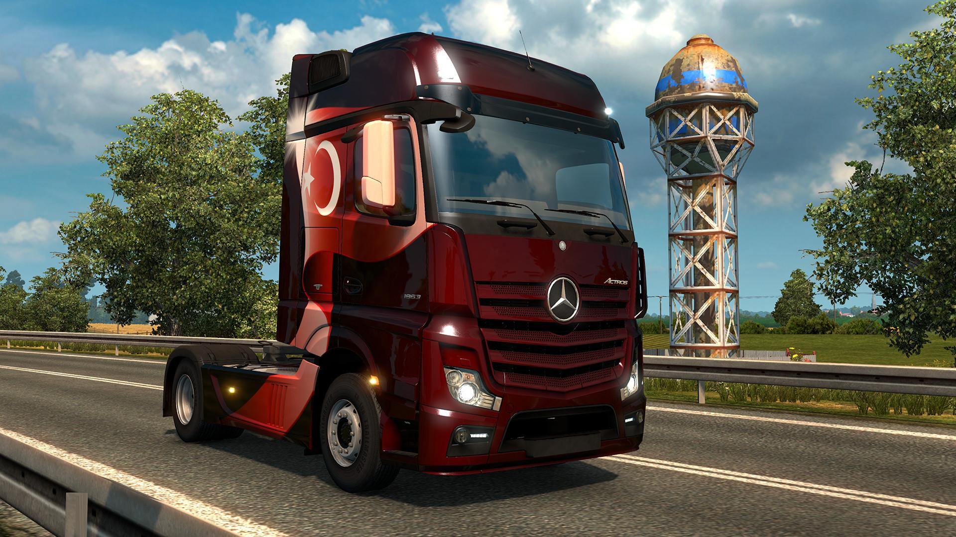 Euro Truck Simulator 2 - Turkish Paint Jobs Pack screenshot