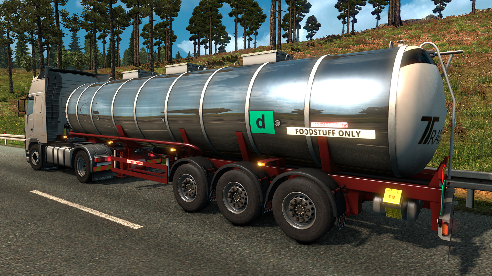 Euro Truck Simulator 2 - Schwarzmüller Trailer Pack screenshot