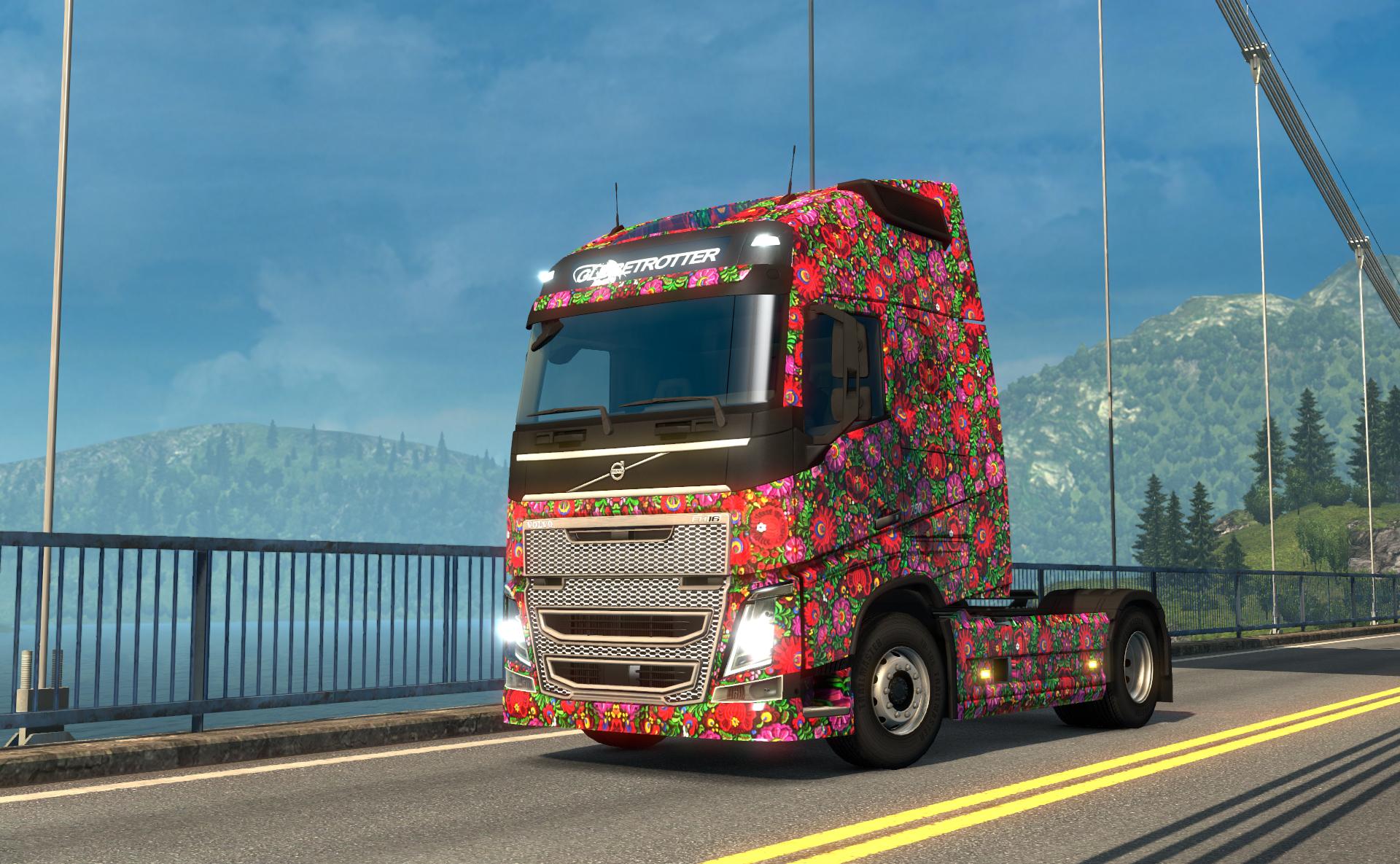 Euro Truck Simulator 2 - Hungarian Paint Jobs Pack screenshot