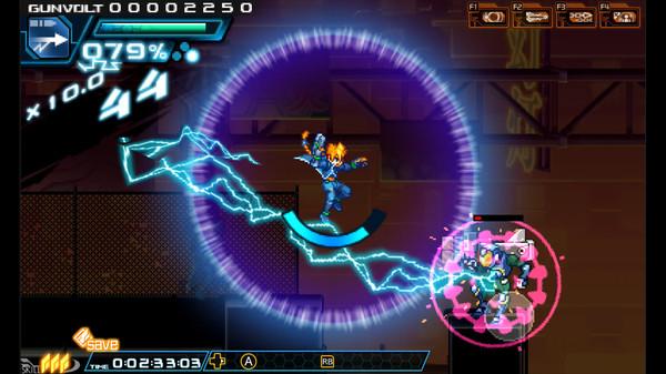 Azure Striker Gunvolt - Game Screenshot