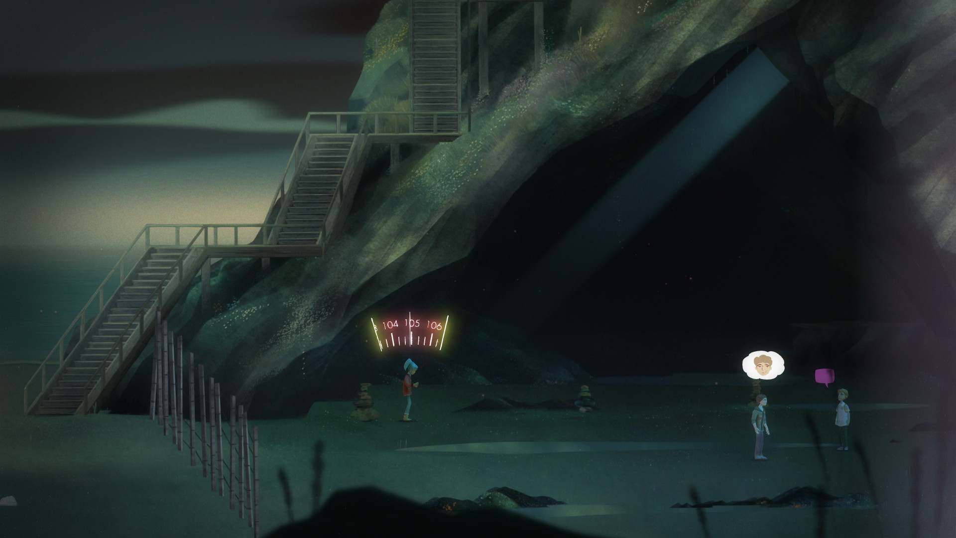 Oxenfree screenshot 2