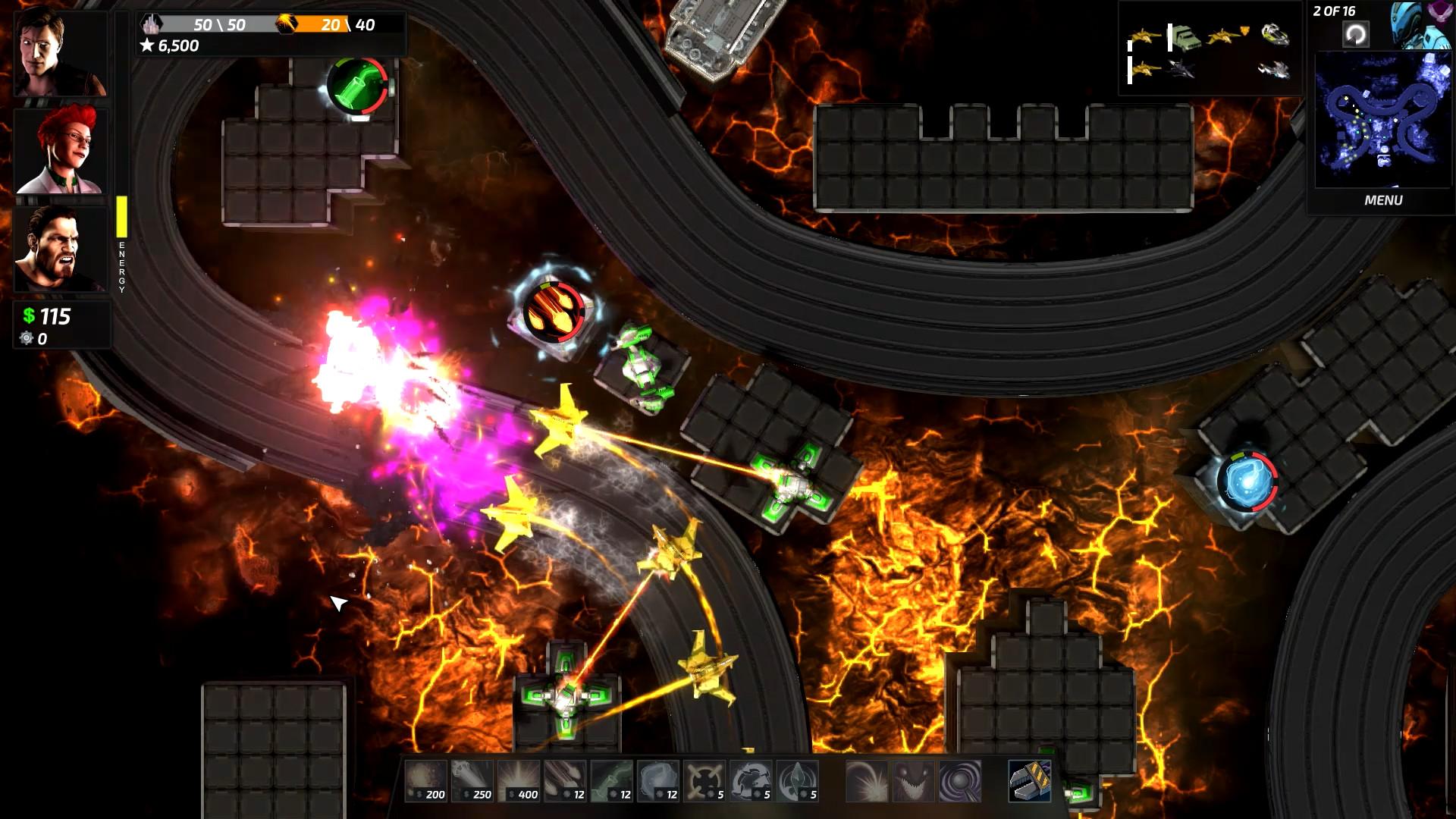 Sentinels screenshot