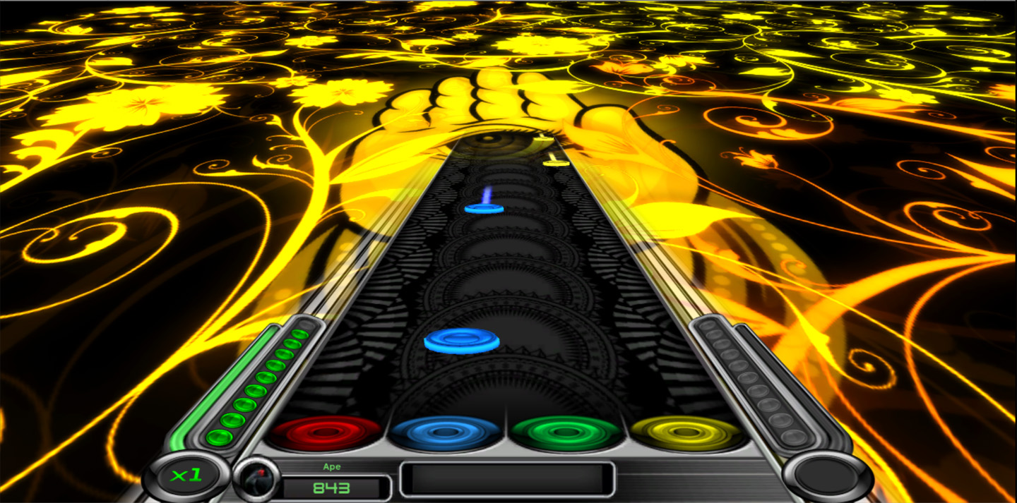 Rhythm Zone Mesh Visualizer DLC screenshot