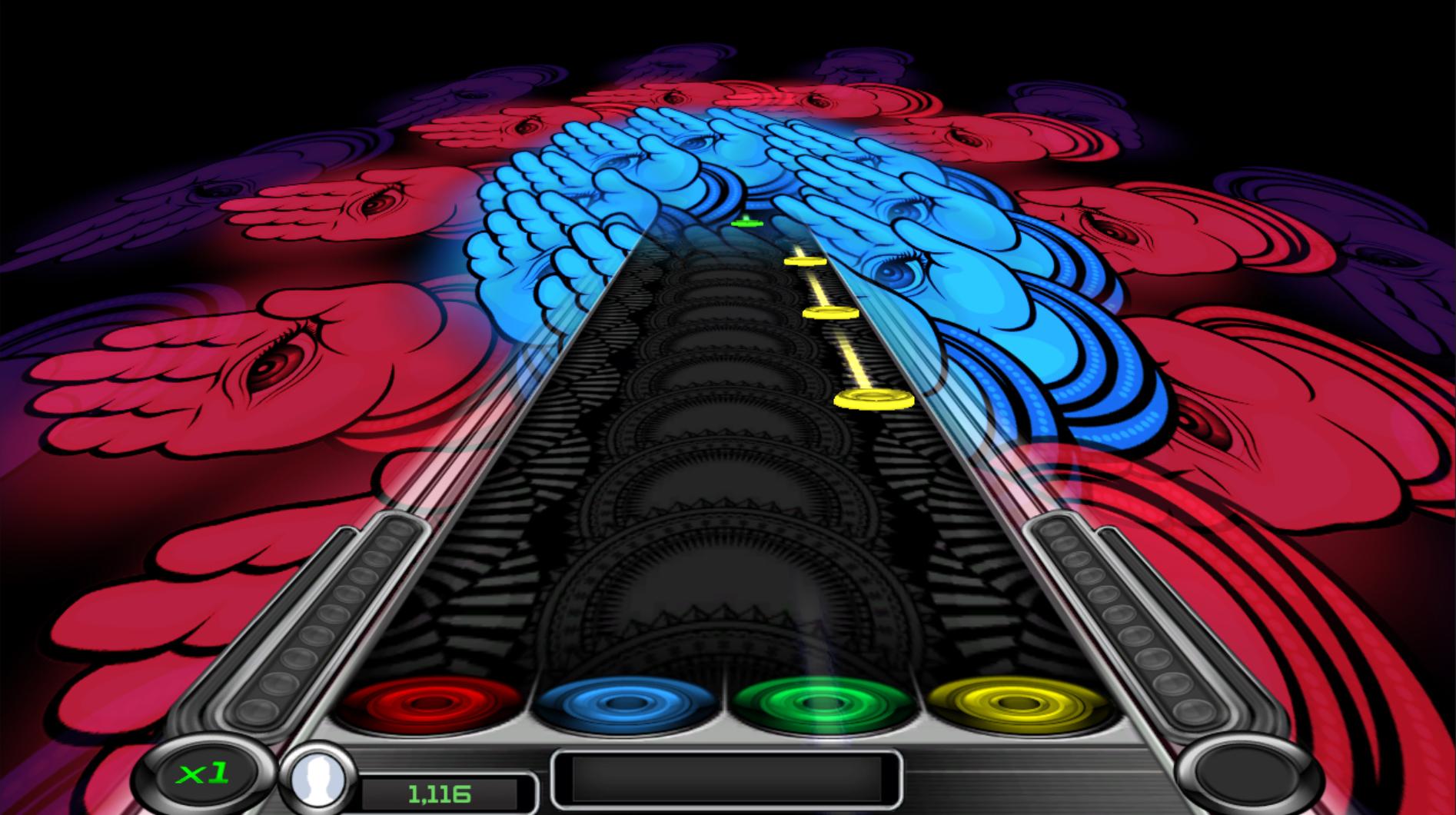 Rhythm Zone Tornado Visualizer DLC screenshot
