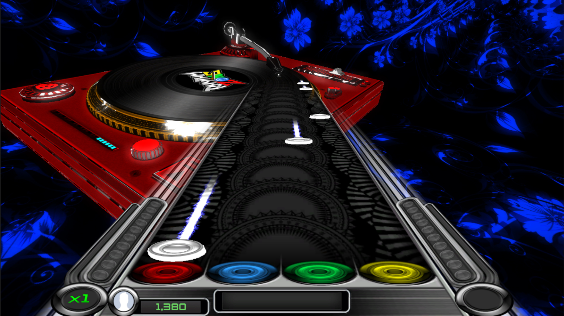 Rhythm Zone DJ Table Visualizer DLC screenshot
