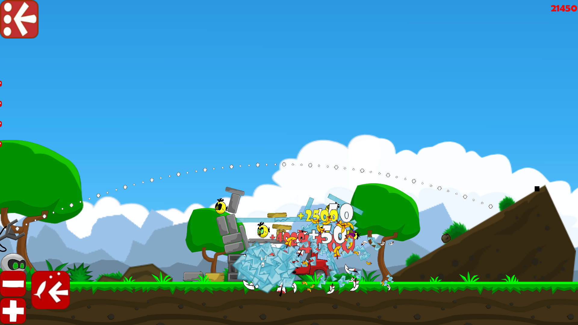 Robot vs Birds Zombies screenshot