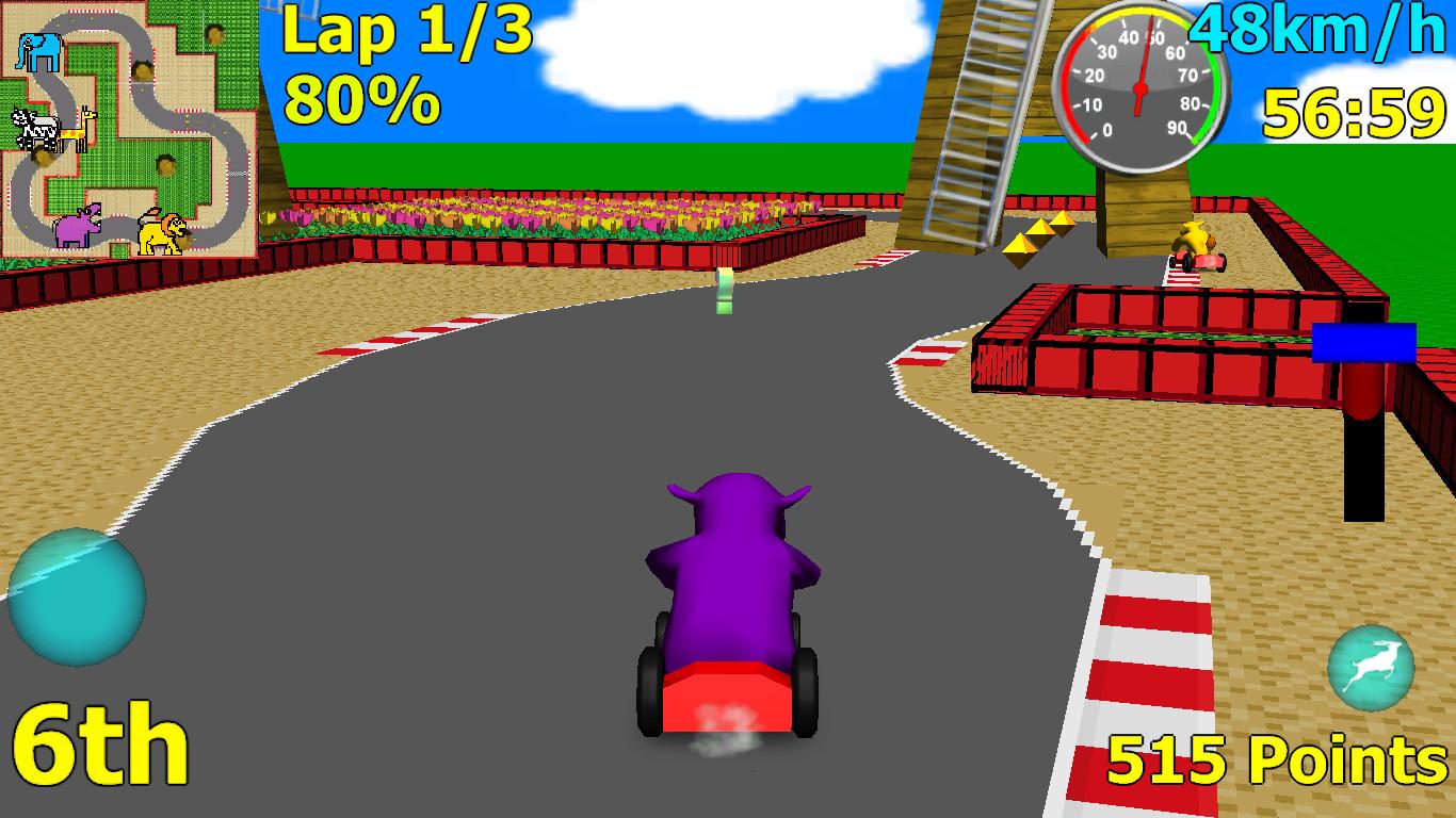 Wild Animal Racing screenshot