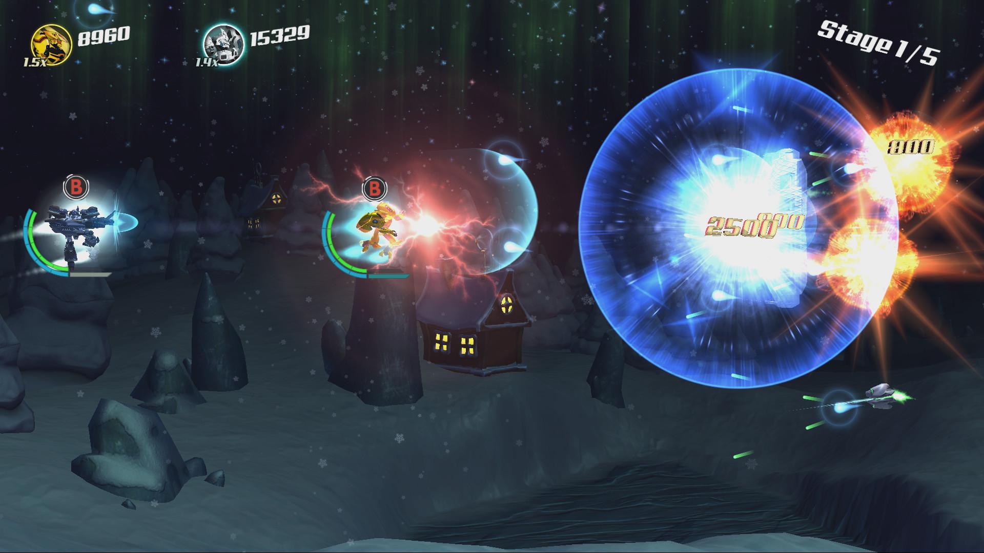 Stardust Galaxy Warriors: Stellar Climax Screenshot 2