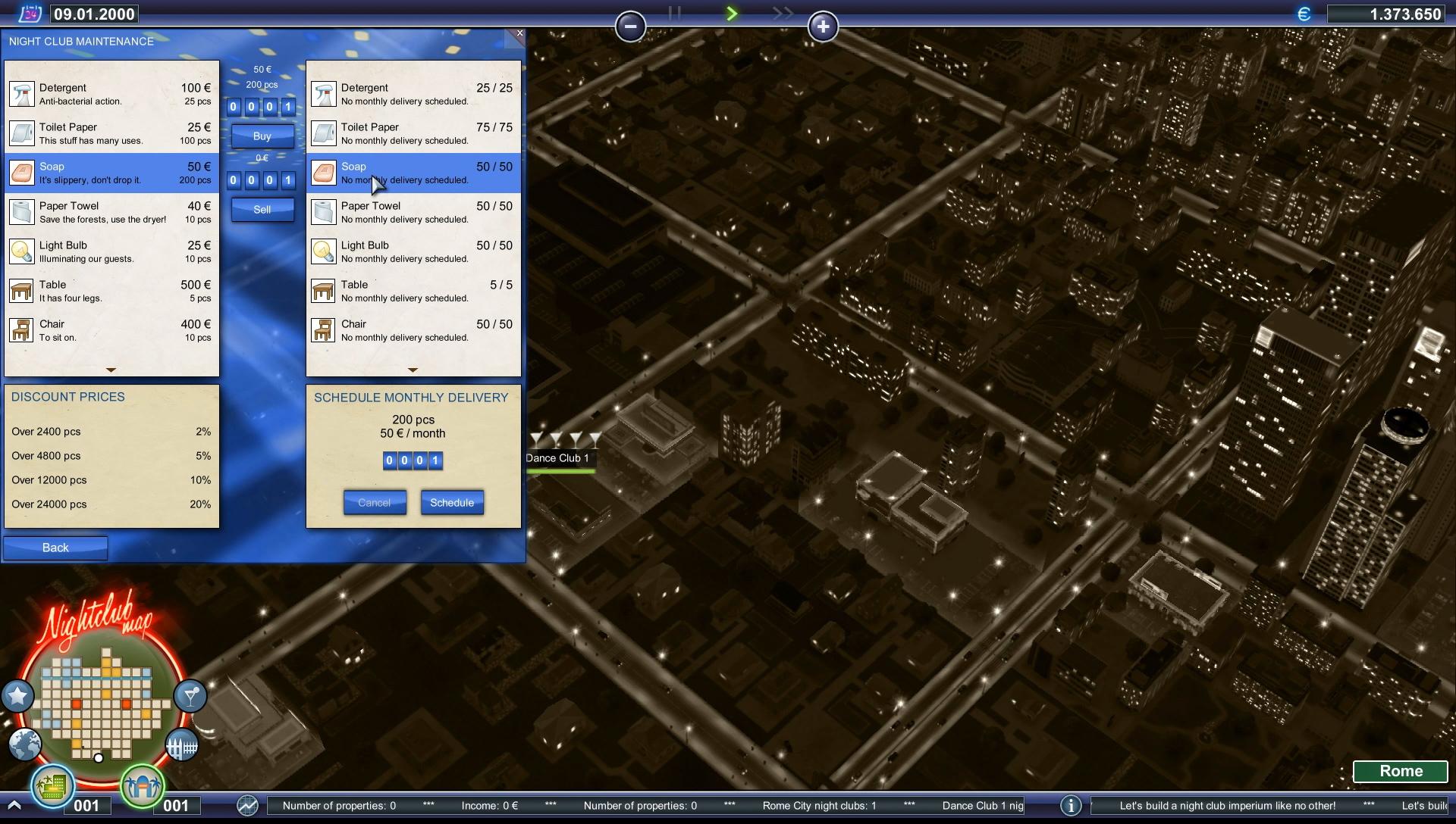 Nightclub Emporium screenshot