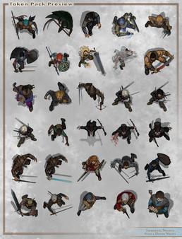1000  images about VTT Top Down Tokens on Pinterest | Samurai ...