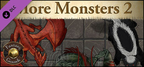 Fantasy Grounds - Top-Down Tokens - More Monsters 2