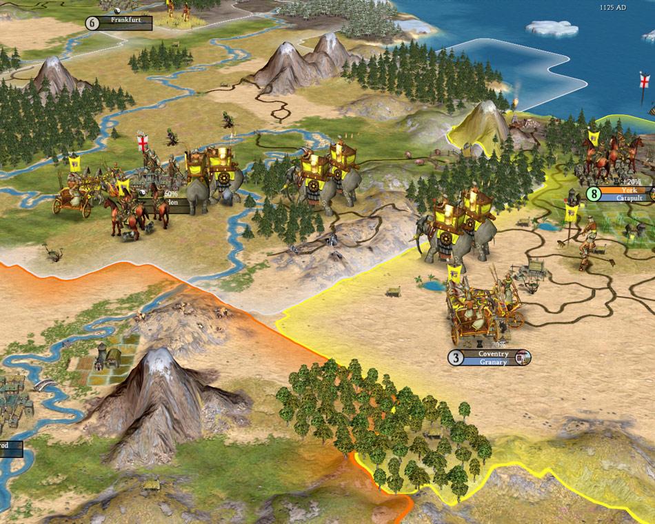 Sid Meier's Civilization IV screenshot