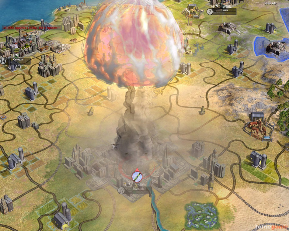 Sid Meier's Civilization IV screenshot