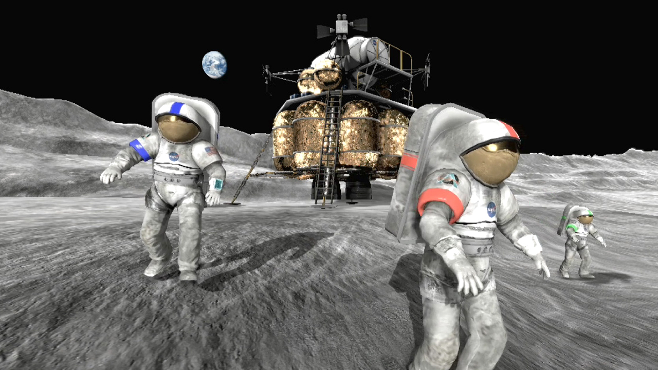 Moonbase Alpha screenshot