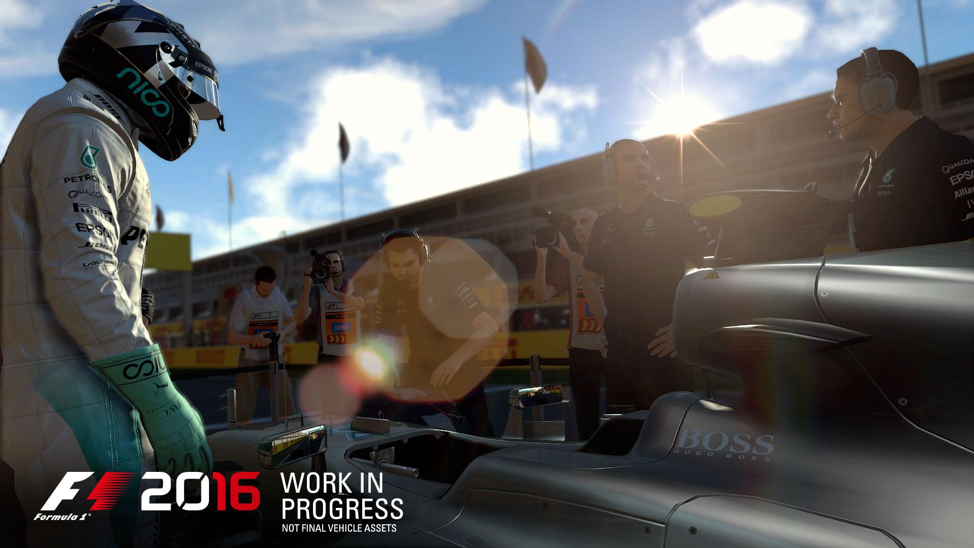 Нововведения в F1 2016