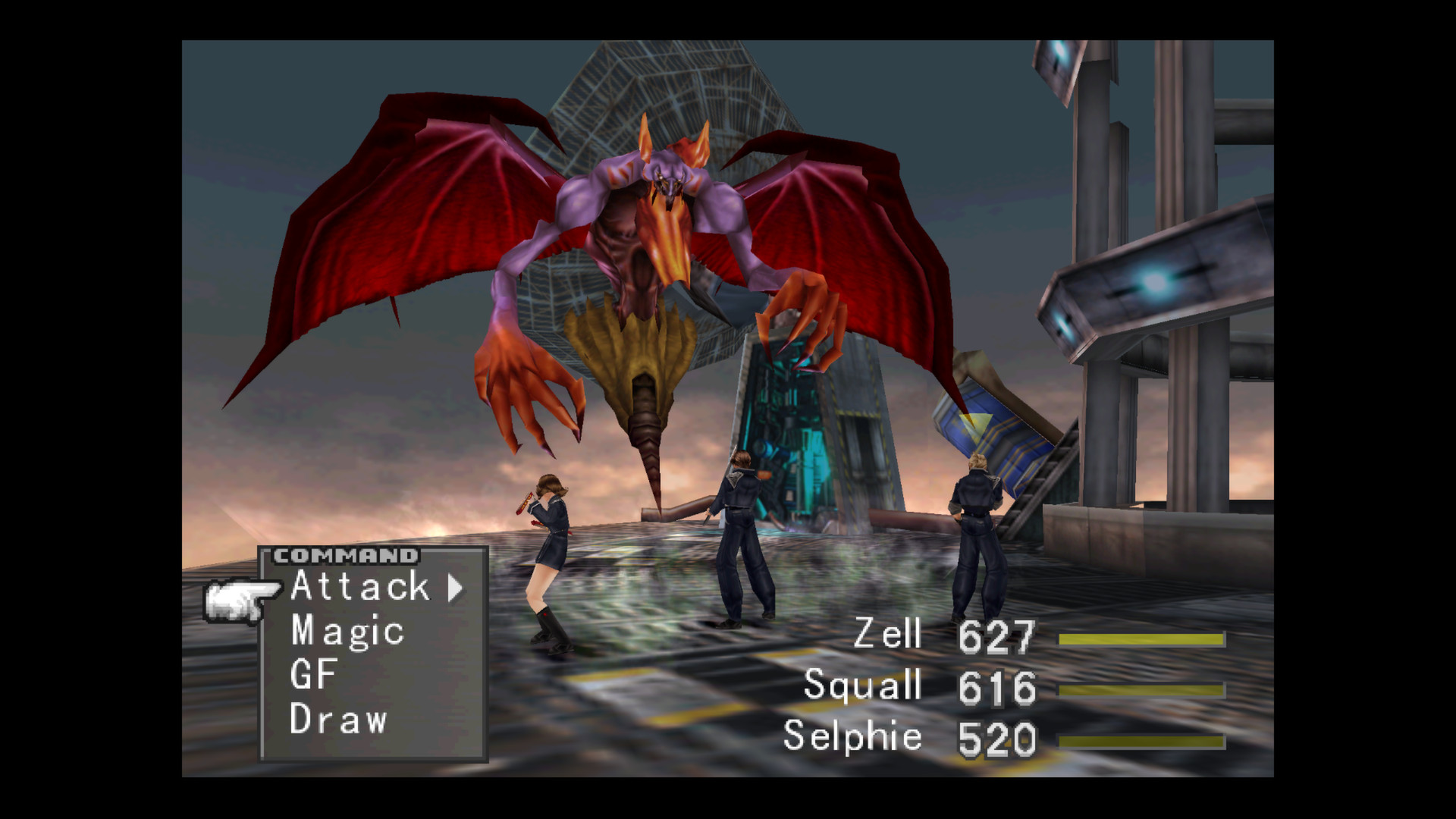 FINAL FANTASY VIII screenshot