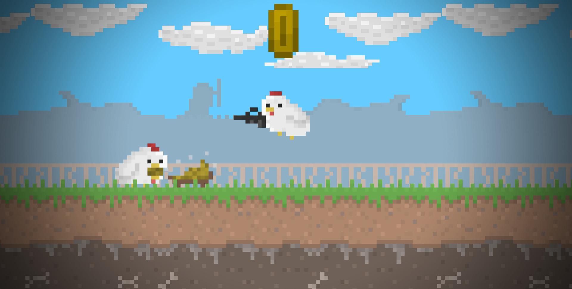 Chicka Wars   Chicken Meat screenshot