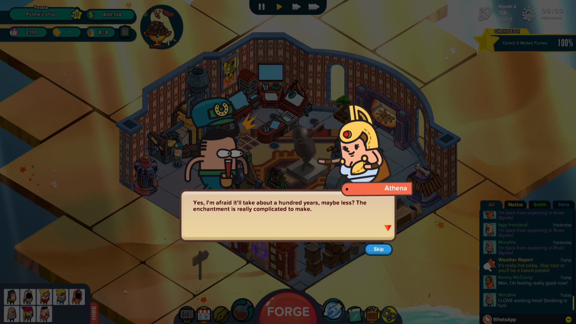 Holy Potatoes! A Weapon Shop?! - Spud Tales: Journey to Olympus screenshot