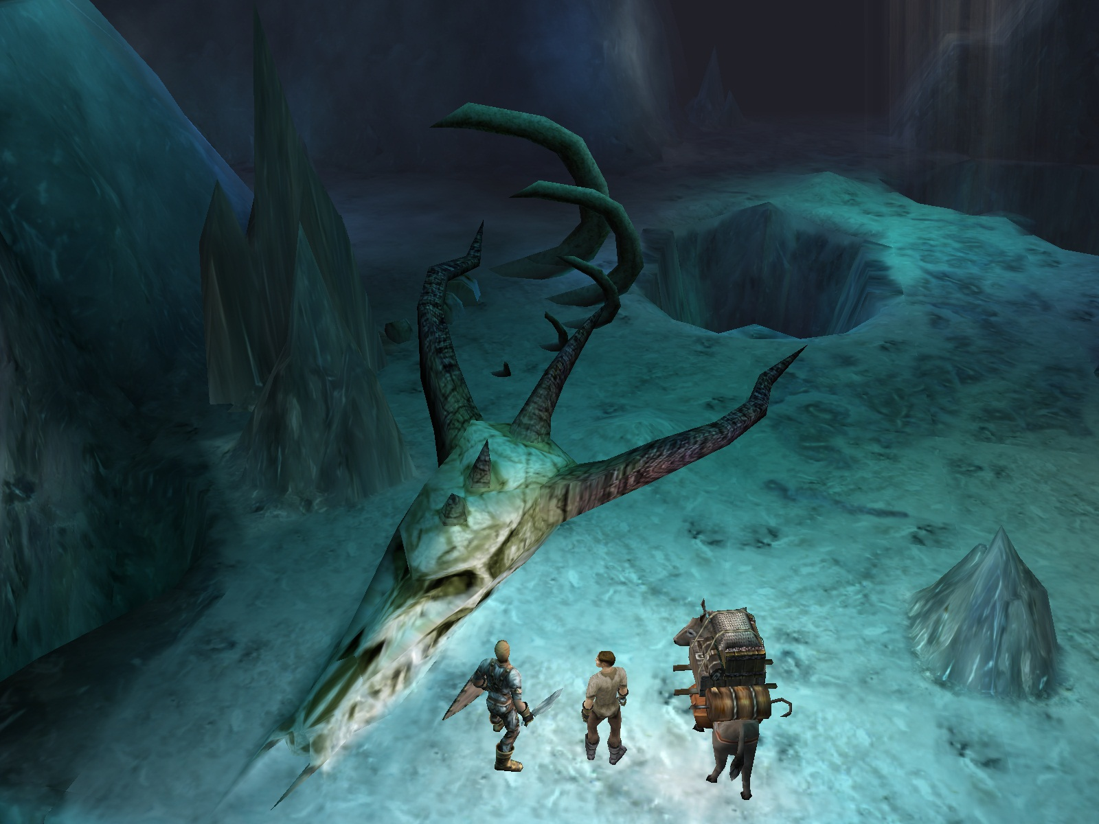 Dungeon Siege screenshot
