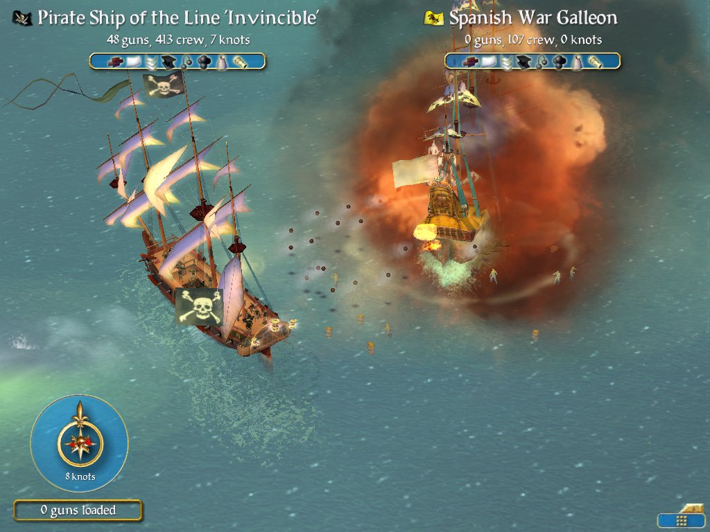 Sid Meier's Pirates! screenshot